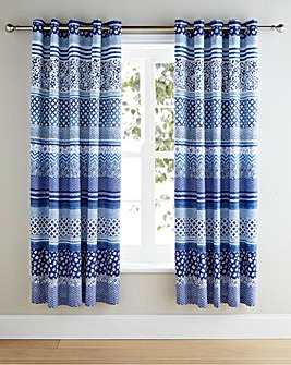 Naples Pencil Eyelet Curtains