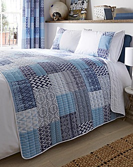 Seville Patchwork Quilted Throwover