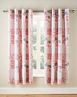 Dahlia Eyelet Lined Curtains