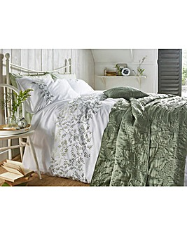 Jardin Embroidered Duvet Cover Set