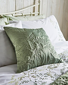 Jardin Quilted Square Filled Cushion