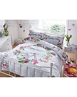 Madeline Reversible Print Duvet Set