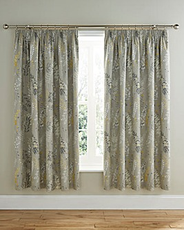 Haze Thermal Lined Pencil Pleat Curtains