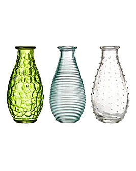 Botanical Set of 3 Vases
