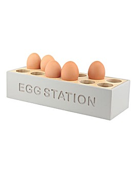Egg Station Grey