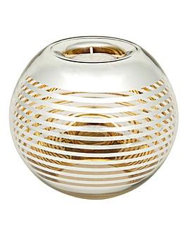 Gold Hoop Round Tealight Bowl