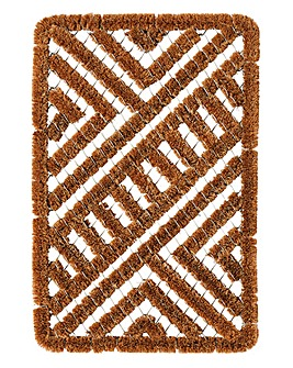 Metal & Coir Brush Mat