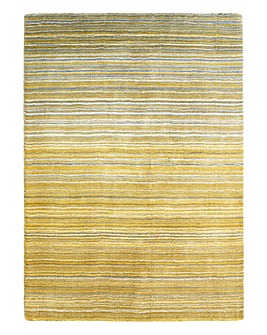 Fine Stripe Wool Rug Large