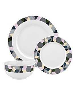 Portmeirion Geometrics 12pc Dinnerset