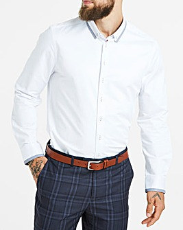 Black Label White L/S Smart Shirt R