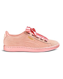 Puma Satin Vikky Ribbon Trainers