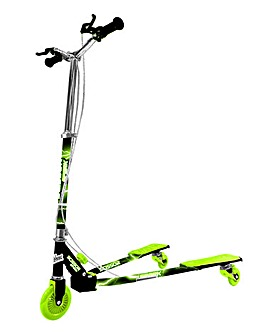Scissor Scooter Black & Green