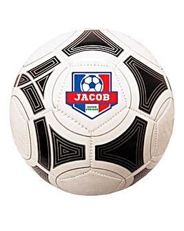 Personalised Football - Blue