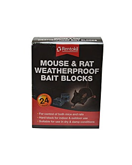 Rentokil Mouse&Rat Bait Blocks (24)