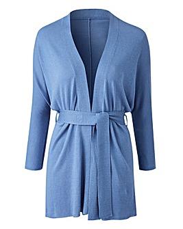 Wrap Kimono Belted Cardigan