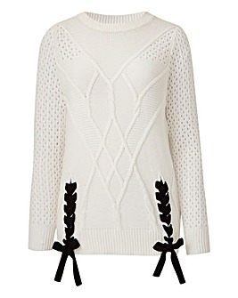 Pointelle Detail Jumper