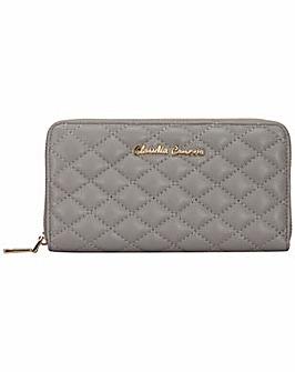 Claudia Canova Long Zip Round Wallet