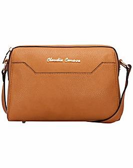 Claudia Canova Zip Top Cross Body Bag