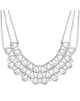 Mood Crystal Peardrop Collar Necklace