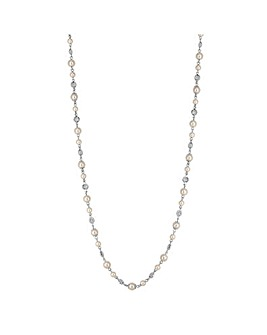 Jon Richard pearl beaded long necklace