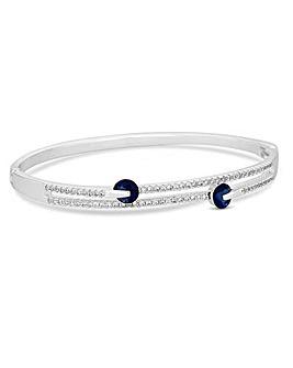 Jon Richard double row bracelet