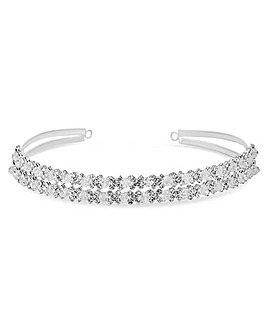 Jon Richard crystal and bead headband