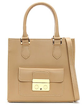 Daniel Muddler Small Structured Tote Bag