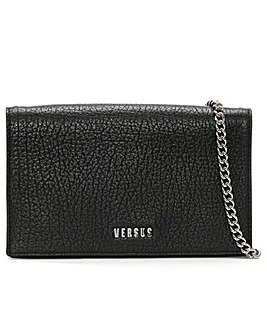 Versus Versace Pebbled Leather Wallet