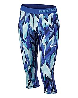 Nike Older Girls Pro Cool Capri Pants