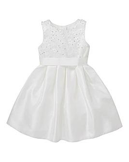 KD Girls Ivory Bridesmaid Dress