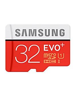 Samsung MicroSDXC 32GB EVO Plus