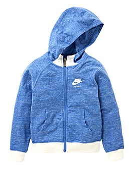 Nike Young Girls Vintage Full Zip Hoodie