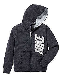 Nike Young Boys Club Fleece Full Zip Hoo