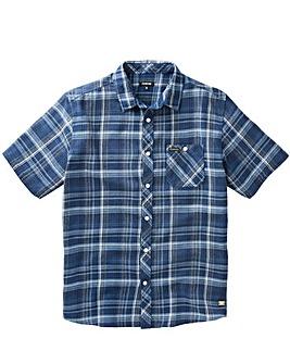 Firetrap Casper Check Shirt Long
