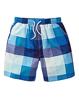 Joe Browns Multi Check Swim Shorts