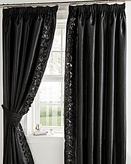 Georgia Lined Curtains & Tie Backs