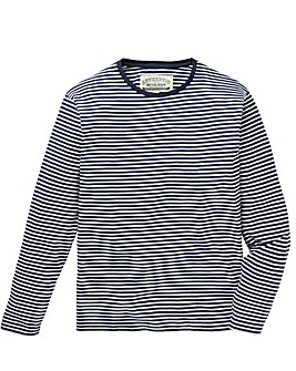 Jacamo L/S Stripe T-Shirt Long