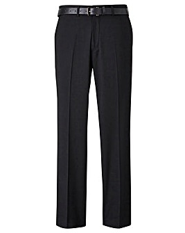 Black Label Stretch Skinny Belt Trouser