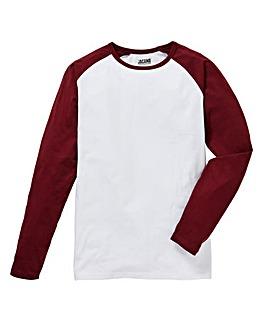 Jacamo L/S Raglan T-shirt Reg