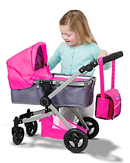 Chicco 3 in 1 Dolls Pram