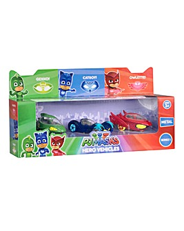 PJ Masks Die-Cast Vehicle 3 Pack
