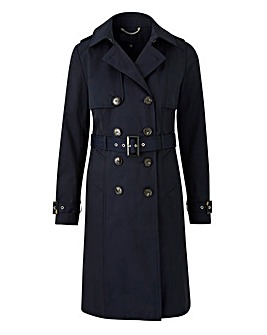 Petite Showerproof Trench Jacket