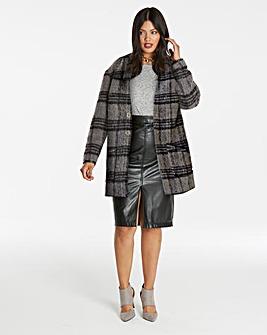 Wool Shawl Collar Coat