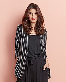 Stripe Luxe Blazer