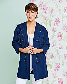 Luxe Beaded Kimono