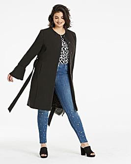 Flare Sleeve Coat