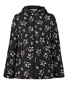 Print Padded Coat