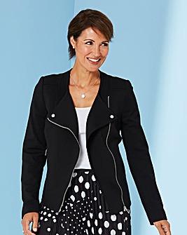 Smart Jersey Biker Jacket