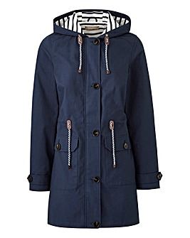 Hooded Cotton Casual Coat