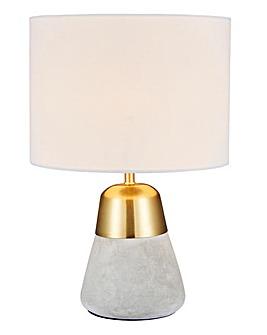 Larson Concrete & Gold Table Lamp